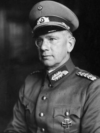 Walter von Reichenau in 1934