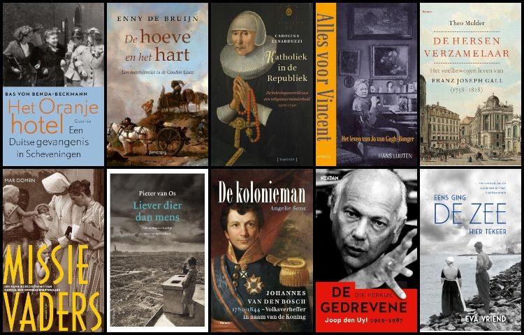 Longlist van de Libris Geschiedenis Prijs 2020