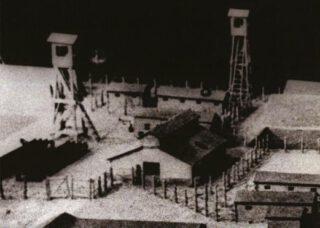 Fragment van de boekcover, Treblinka 1943