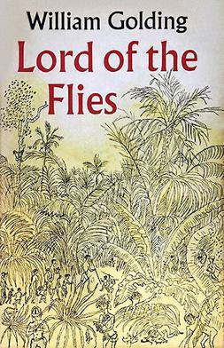 Originele Engelse cover van 'Lord of the Flies'