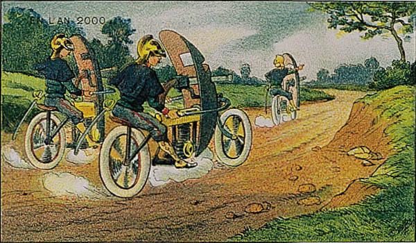 En L'An 2000 - Motor-mitrailleurs