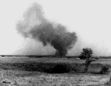 Een foto van de opstand, gemaakt door Franciszek Ząbecki. (Publiek domein/wiki)
