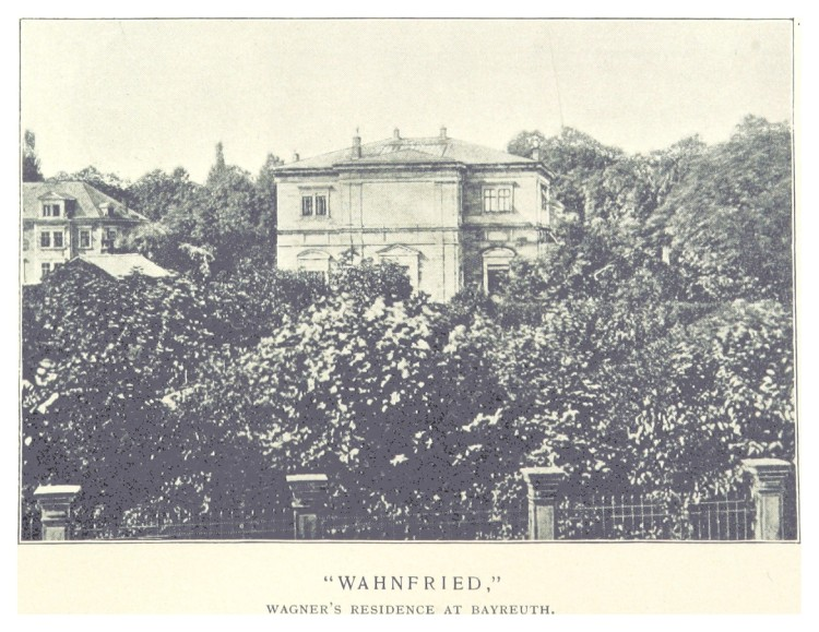 Villa WAHNFRIED in Bayreuth