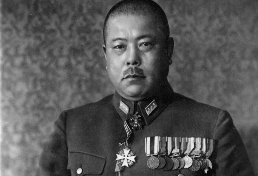 Fotoportret van Tomoyuki Yamashita, voor 1945