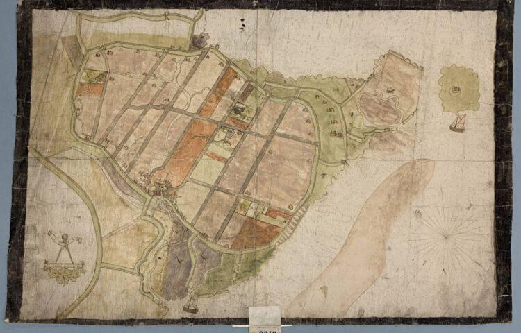 De herontdekte kaart van Goeree-Overflakkee