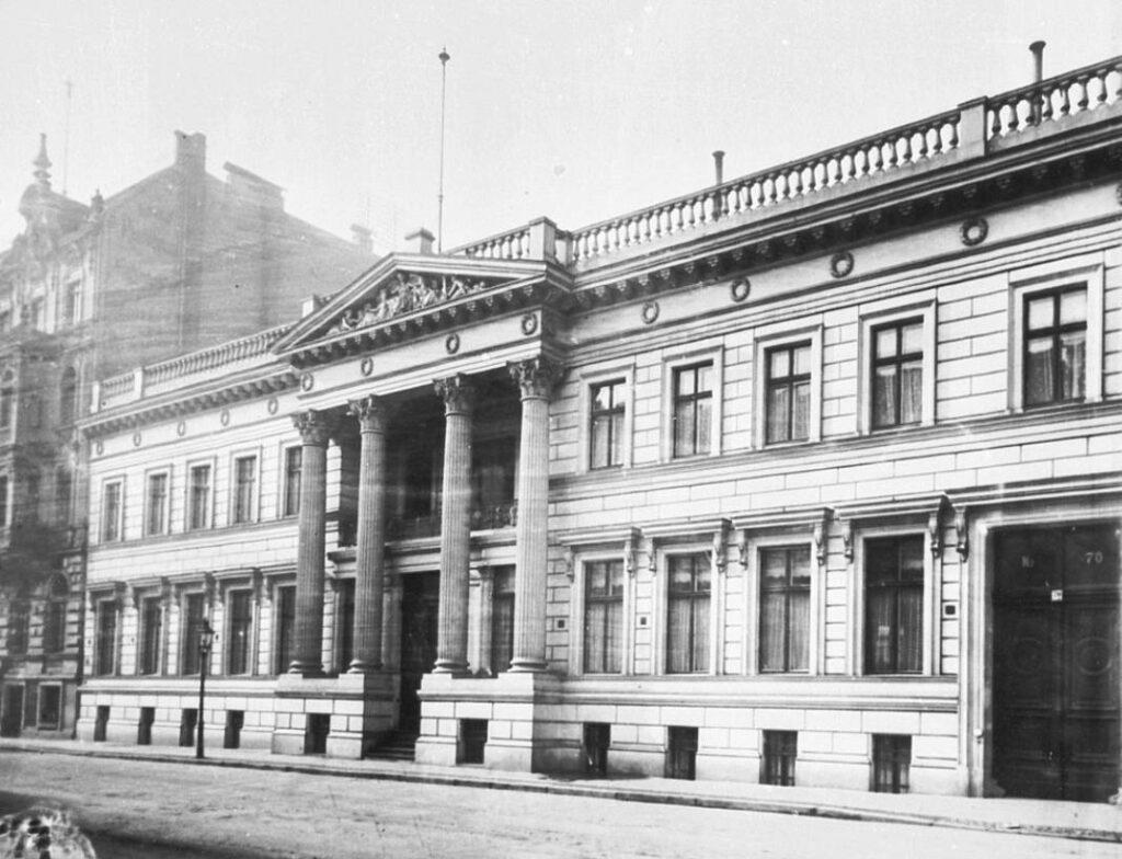 Palais Strousberg, 1896