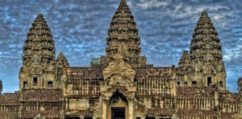 Henri Mouhot (1826-1861) en het tempelcomplex van Angkor Wat