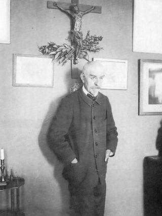 Joris-Karl Huysmans, gefotografeerd door Dornac