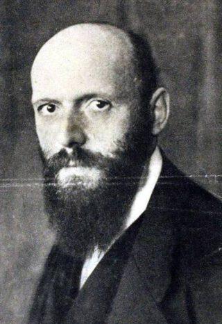 Otto Neurath in 1919 - Foto gemaakt door Heinrich Hoffman