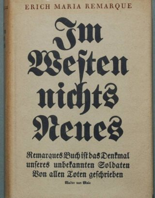 'Im Westen nichts Neues' van Erich Maria Remarque