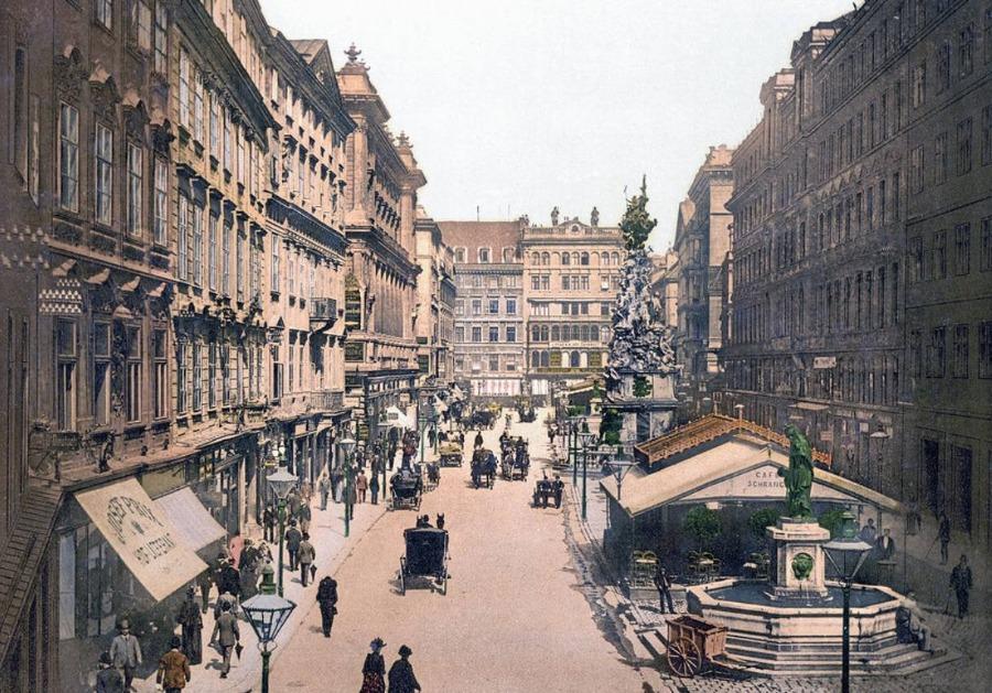 Wenen rond 1905