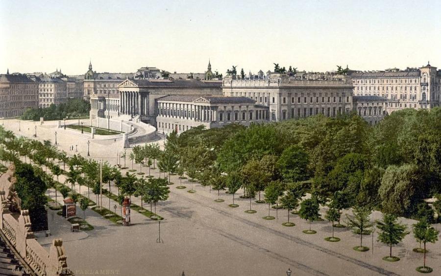 Parlement van Wenen rond 1900