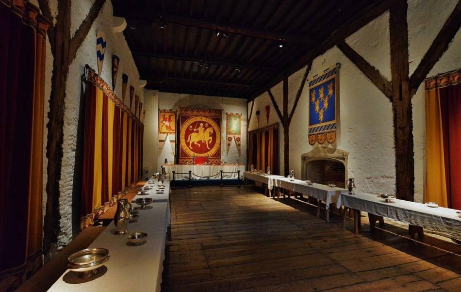 Gerenoveerde ontvangstzaal van Dover Castle