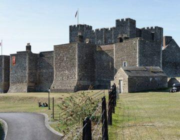 Dover Castle gezien vanaf het zuidoosten