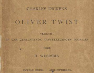 Oliver Twist, één van de aan Delpher toegevoegde boeken