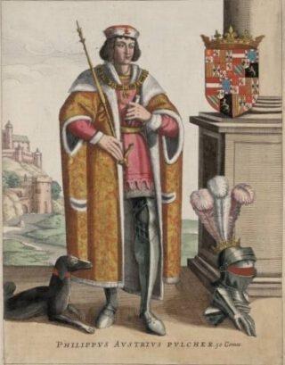 Filips de Schone (afbeelding uit Flandria illustrata, 1641)
