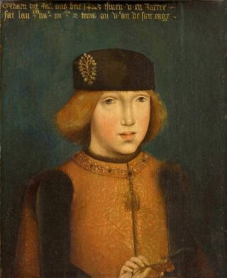 Filips de Schone op 5-jarige leeftijd