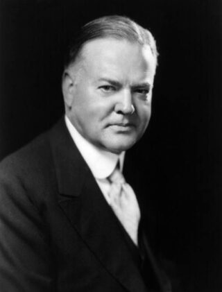 Herbert Hoover in 1928