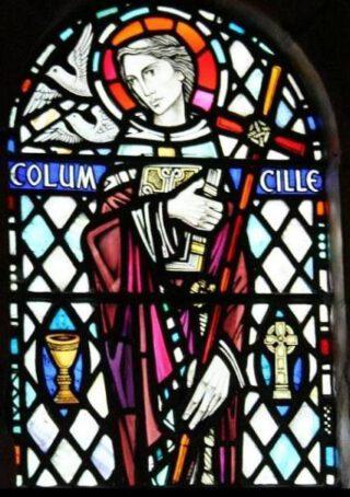 De heilige Columba