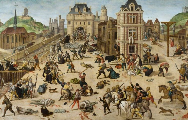 Bartholomeüsnacht – François Dubois, ca, 1572-84