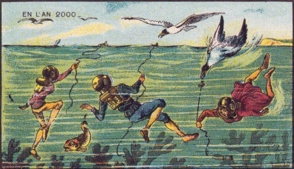 En L'An 2000 - Zeemeeuwen vangen