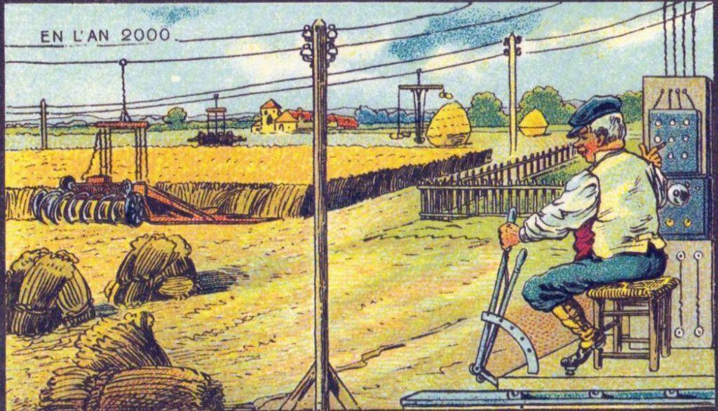 En L'An 2000 - Een hele drukke boer