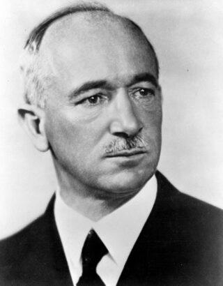 De Tsjechische president Edvard Beneš