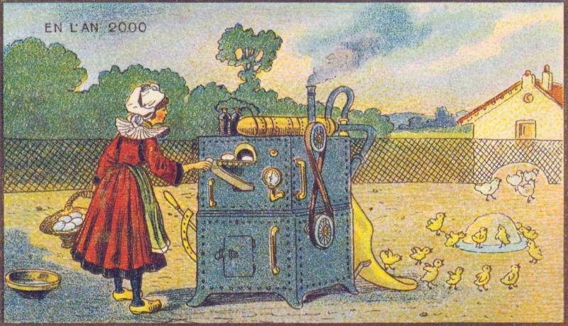 En L'An 2000  -  Een moderne broedmachine