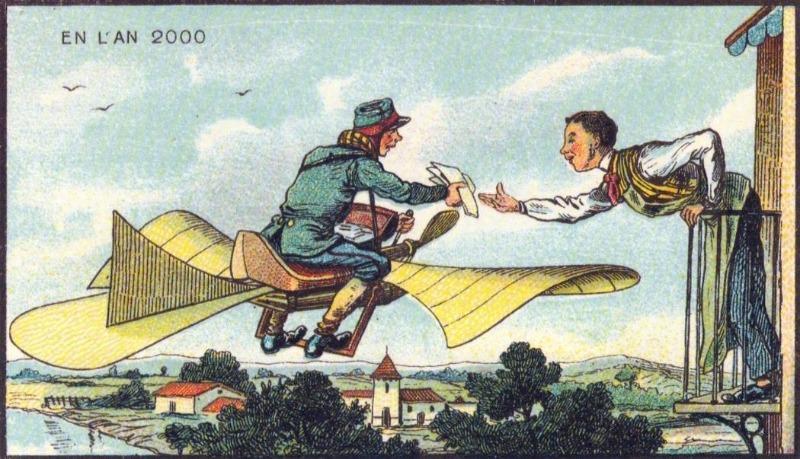 En L'An 2000 - Postbezorging via de lucht