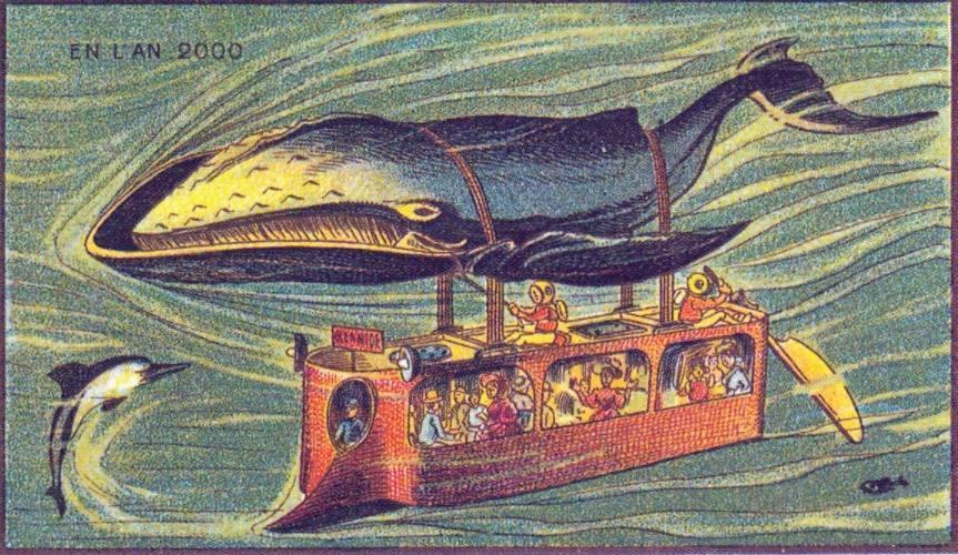 En L'An 2000 - Een walvis-bus