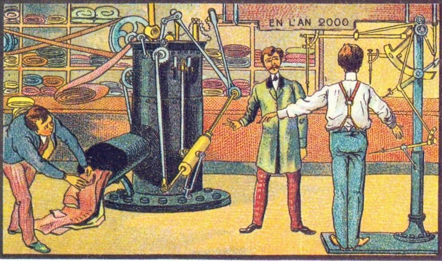 En L'An 2000 - Een moderne kleermaker