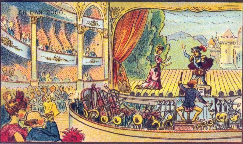En L'An 2000 - Eenpersoons orkest in de opera