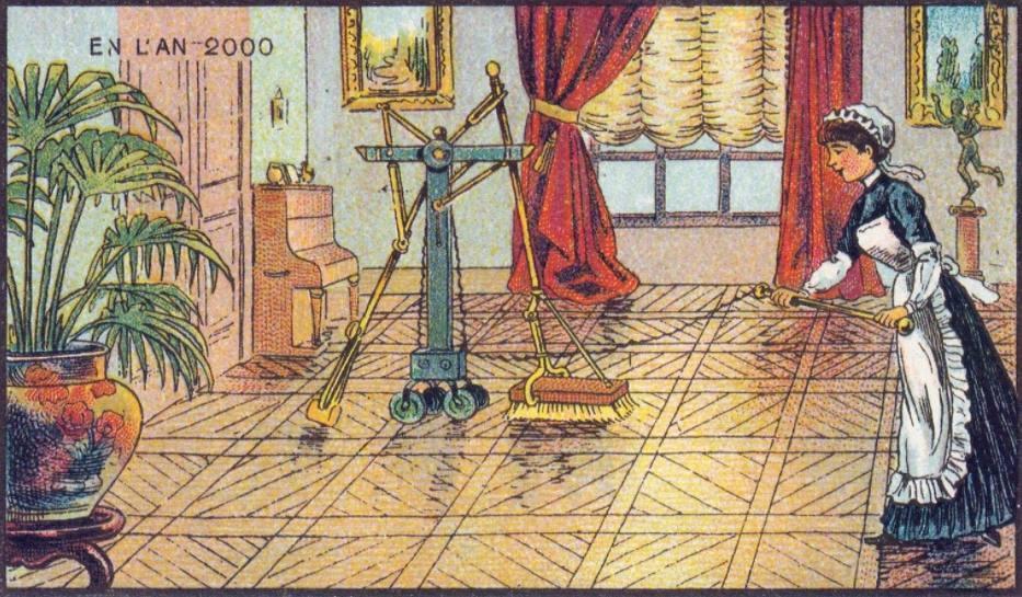 En L'An 2000 - Elektrisch schrobben