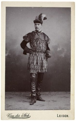 Carl Wilhelm Vollgraff, tussen 1910 en 1915 gefotografeerd door Antonius van der Stok