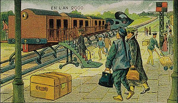 En L'An 2000 - Een elektrische trein: van Parijs naar Peking