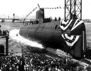 Lancering van de USS Nautilus