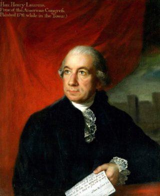 Portret van Henry Laurens tijdens zijn gevangenschap in de Tower van Londen (1781)
