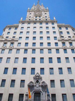 Edificio Telefónica in Madrid