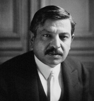 Pierre Laval, minister van Buitenlandse Zaken van Frankrijk, 1931