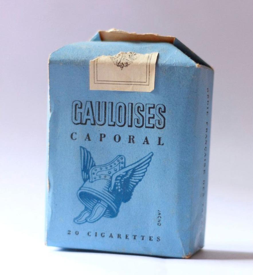 Een pakje Gauloises