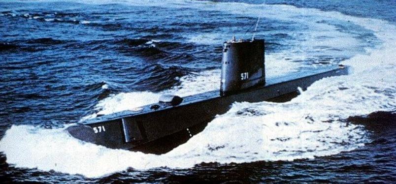 USS Nautilus, ca.1965