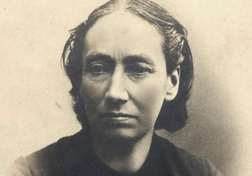 Louise Michel rond 1890
