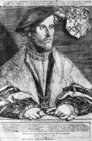 Hertog van Gelre - Willem V van Kleef