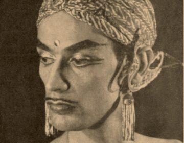 Indra's roem reikte tot in het buitenland, zonder dat hij daar al had opgetreden. Uit het Amerikaanse blad Thinktank, april 1948