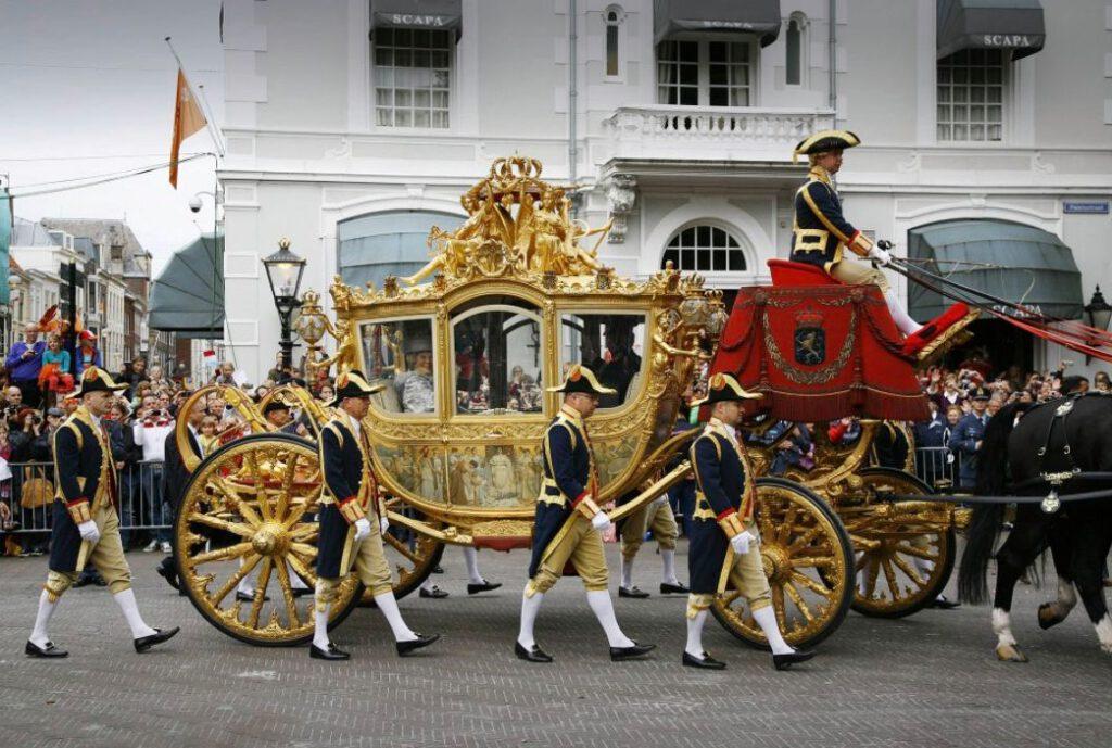 Gouden Koets tijdens Prinsjesdag 2011