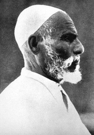 Omar Mukhtar in 1931