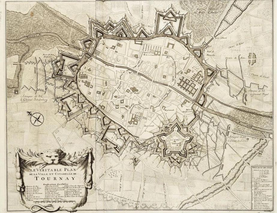 Het beleg van Doornik in 1709