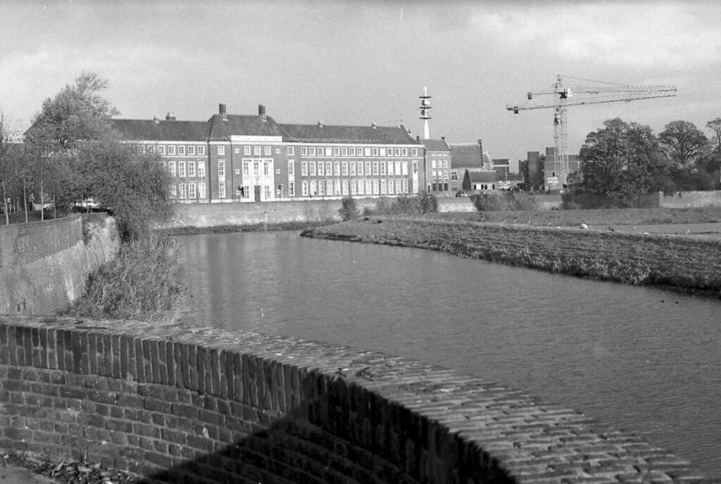 Gerechtshof 's-Hertogenbosch, Spinhuiswal 's-Hertogenbosch. Fotograaf: Felix Janssens, Erfgoed 's-Hertogenbosch, collectie BHIC