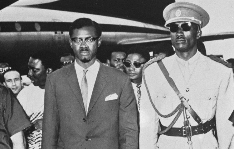 Patrice Lumumba tijdens een bezoek aan New York, zomer 1960