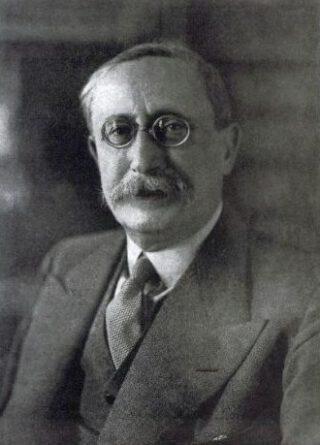 De Franse premier Léon Blum in 1936